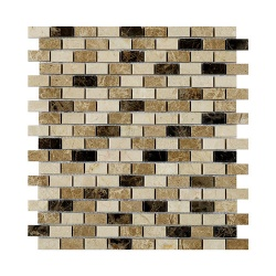 Expresso Polished Marble Mosaic 15 x 32