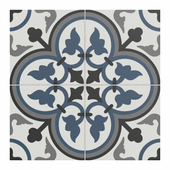 sorolla patterned glazed ceramic wall floor tile 250x250mm