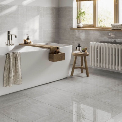 New ProductFistral Clay Glazed Porcelain Wall & Floor Tile 600 x 600mm