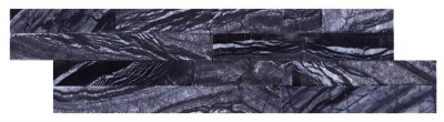 Zeus Split Face Polished Slate Cladding 100x360mm