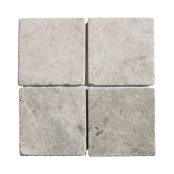 Silver Shadow Grey Tumbled Mosaic 100 x 100