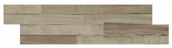 Cedar Dark Multi Finish Splitface Cladding 100x360mm